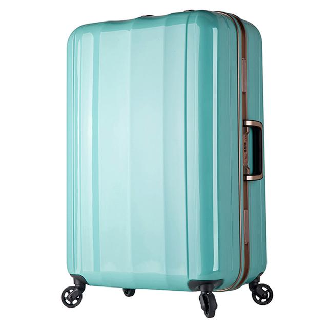 日本 LEGEND WALKER W6702-70-29吋 超輕量行李箱 薄荷綠