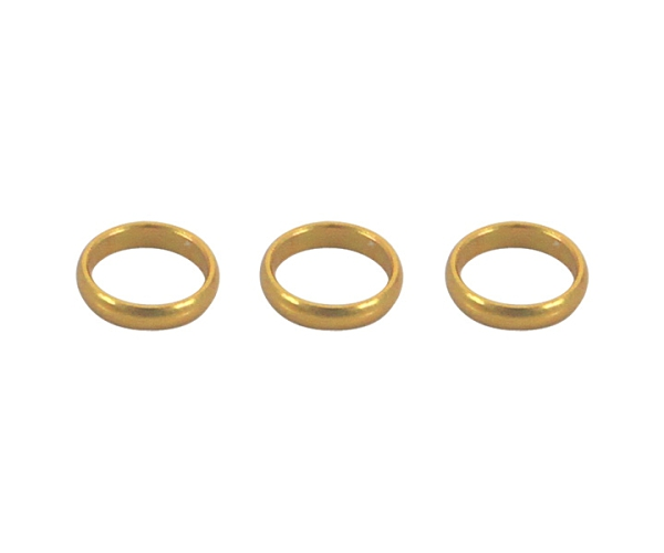 【Harrows】SUPERGRIP SHAFT專用 SPARE RINGS Gold 飛鏢配件 DARTS