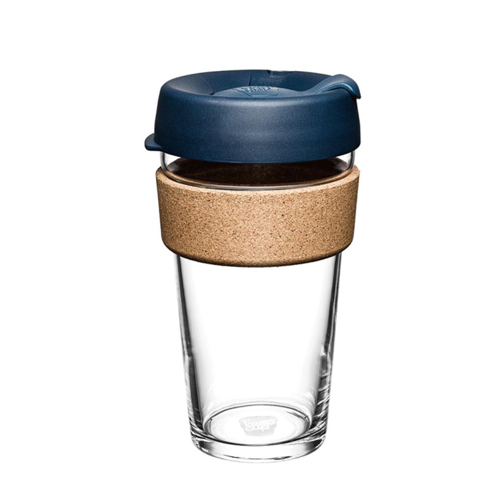 小宅私物澳洲 keepcup 隨身咖啡杯 軟木系列 l (優雅藍) 咖啡杯 隨行杯 環保杯