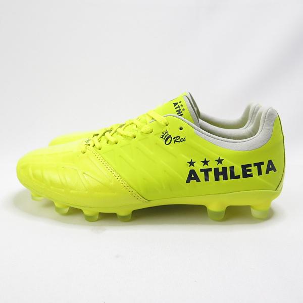 ATHLETA O-REI FUTEBOL T006 男女款 足球釘鞋 10011FYE 螢光黃【iSport愛運動】