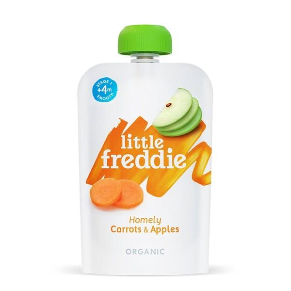 little freddie - 小皮有 機 蘋果紅蘿蔔泥-4個月食用 145元