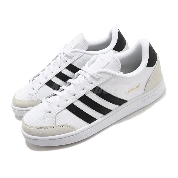 adidas 休閒鞋 Grand Court SE 白 黑 男鞋 女鞋 運動鞋 【ACS】 FW3277