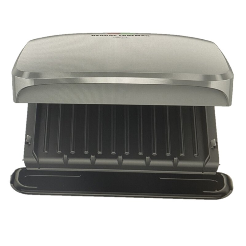 [9美國直購] George Foreman 帕尼尼機 燒烤機 GRP3060P 白金版 4-Serving Removable Plate Grill and Panini Press Platin