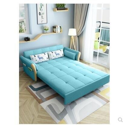 沙發床兩用多功能可折疊單雙人小戶型客廳推拉坐臥經濟型陽臺伸縮