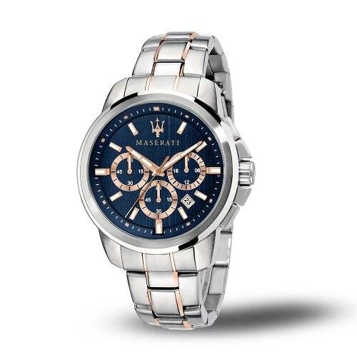 MASERATI 瑪莎拉蒂 SUCCESSO鋼帶多功能腕錶44mm(R8873621008)