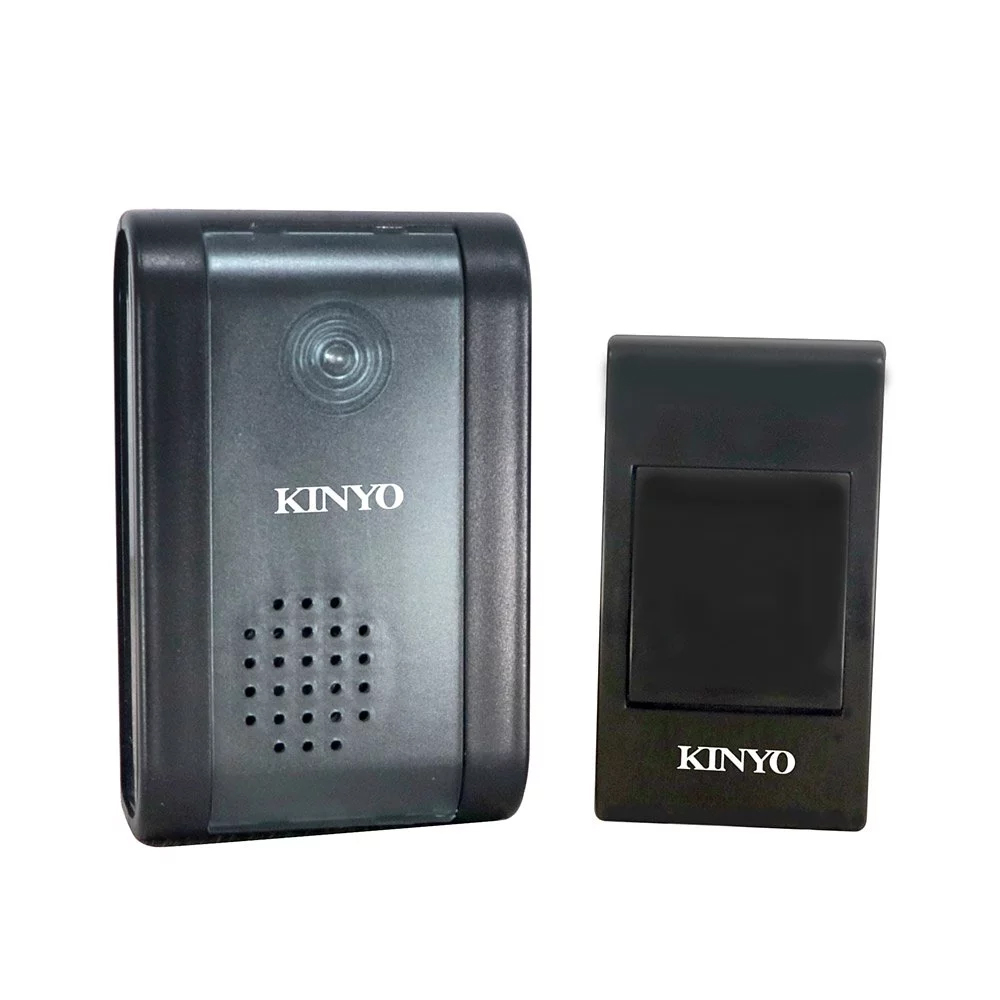 【KINYO】交流式遠距離無線門鈴 DBA-389