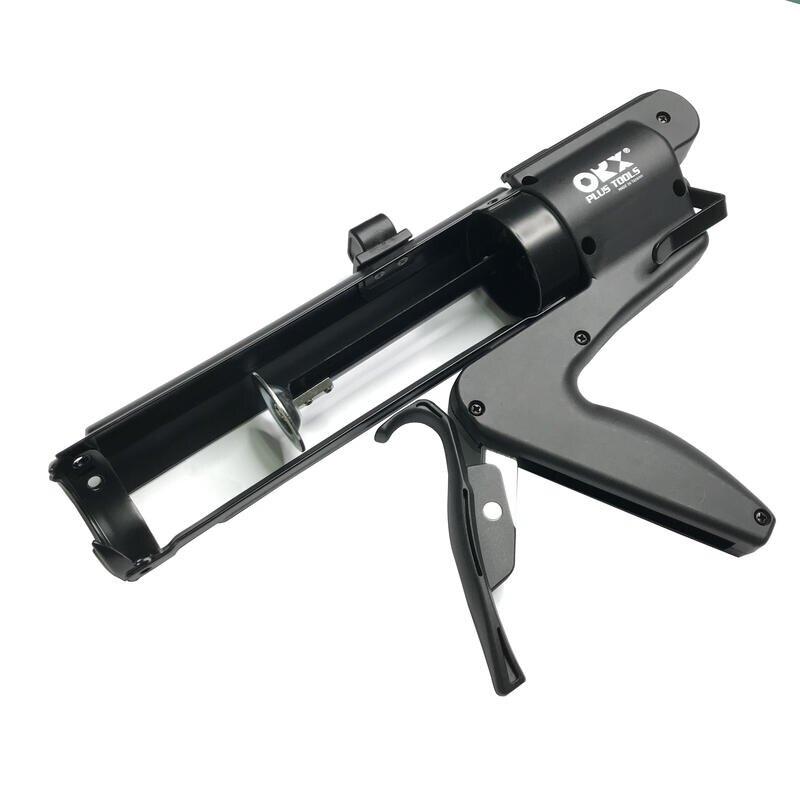 台灣製 ORX專利無推桿矽利康槍 輕鬆省力 填縫膠槍 打糊槍 矽力康槍 silicone槍 油老爺快速出貨