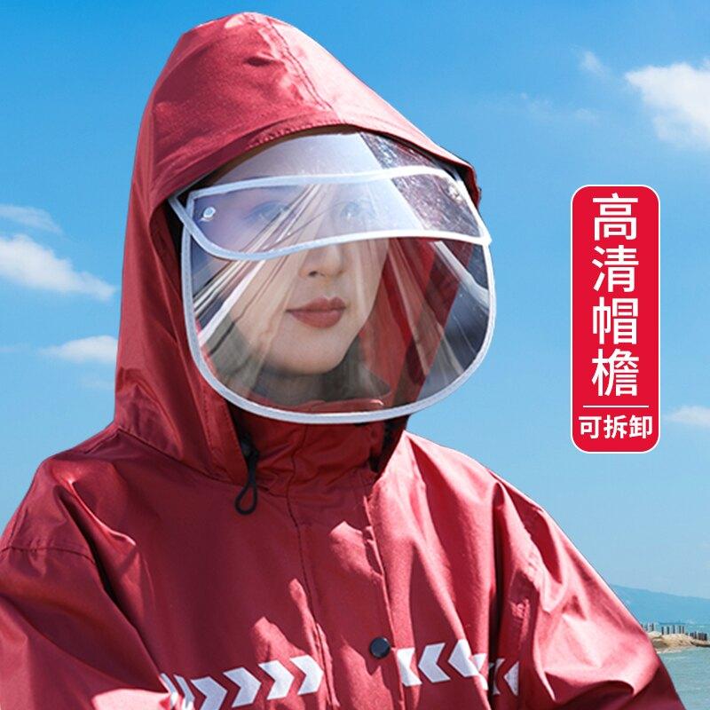 防暴雨雨衣套裝全身防水雨褲男女分體式長款