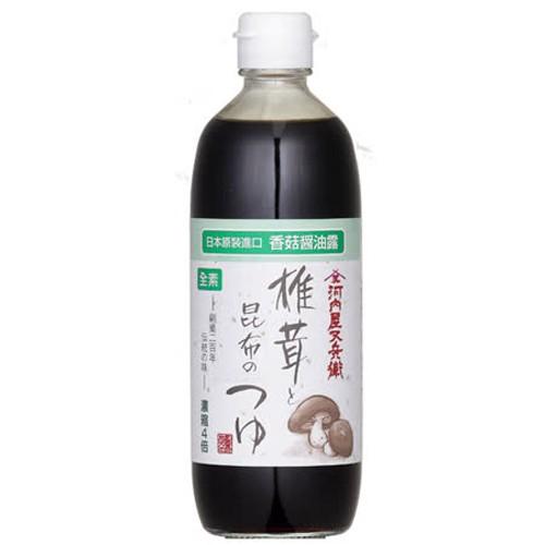 【大醬】香菇昆布醬油露(素)500ML-City'super