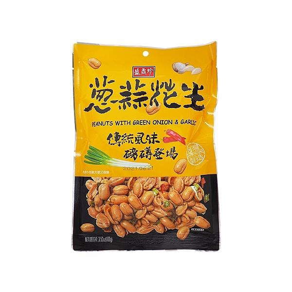 盛香珍 蔥蒜花生(100g)【小三美日】