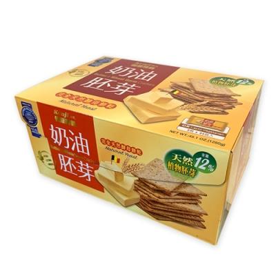 KENJI健司 健康時刻 奶油胚芽餅乾 28.5公克X45包