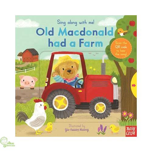 Sing Along With Me Old Macdonald had a Farm (硬頁推拉書)【禮筑外文書店】