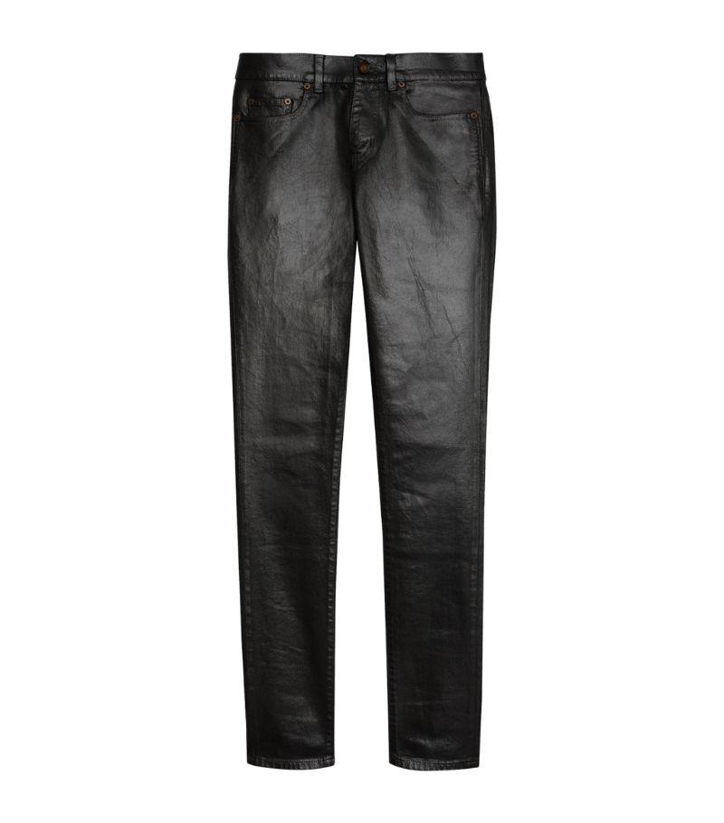 Saint Laurent Coated Skinny Jeans