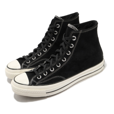 Converse 休閒鞋 All Star 高筒 穿搭 男女鞋 基本款 簡約 質感 三星黑標 情侶鞋 黑 米白 169336C
