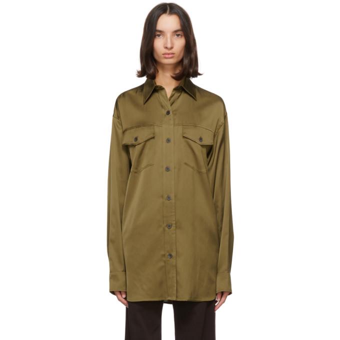 Dries Van Noten 棕色 Carwy 衬衫