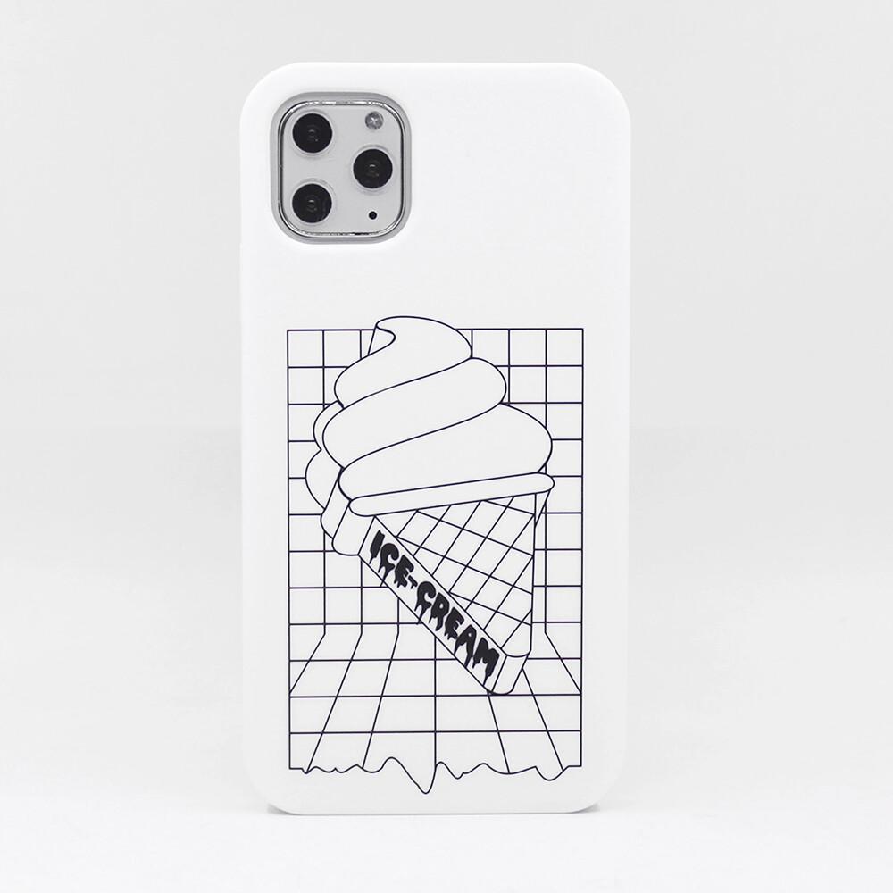candiessimple系列 冰淇淋(白) - iphone 11 pro max