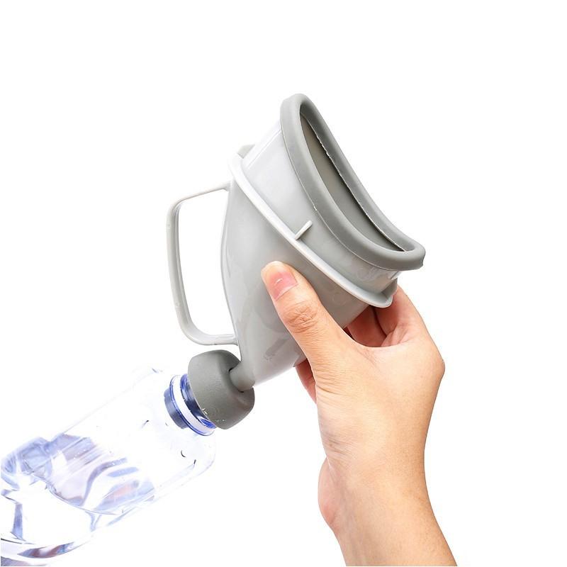 便攜式小便器 男女通用 應急小便斗 站立式尿斗 應急尿壺 戶外可攜式尿桶 應急小馬桶 - hw-12