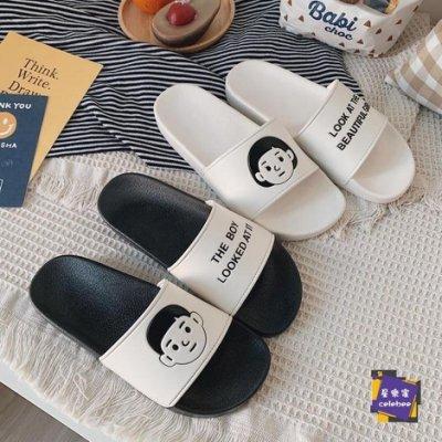 拖鞋 涼拖鞋家用女夏季居家浴室防滑可愛情侶卡通室內涼拖鞋男士ins外穿JSHG