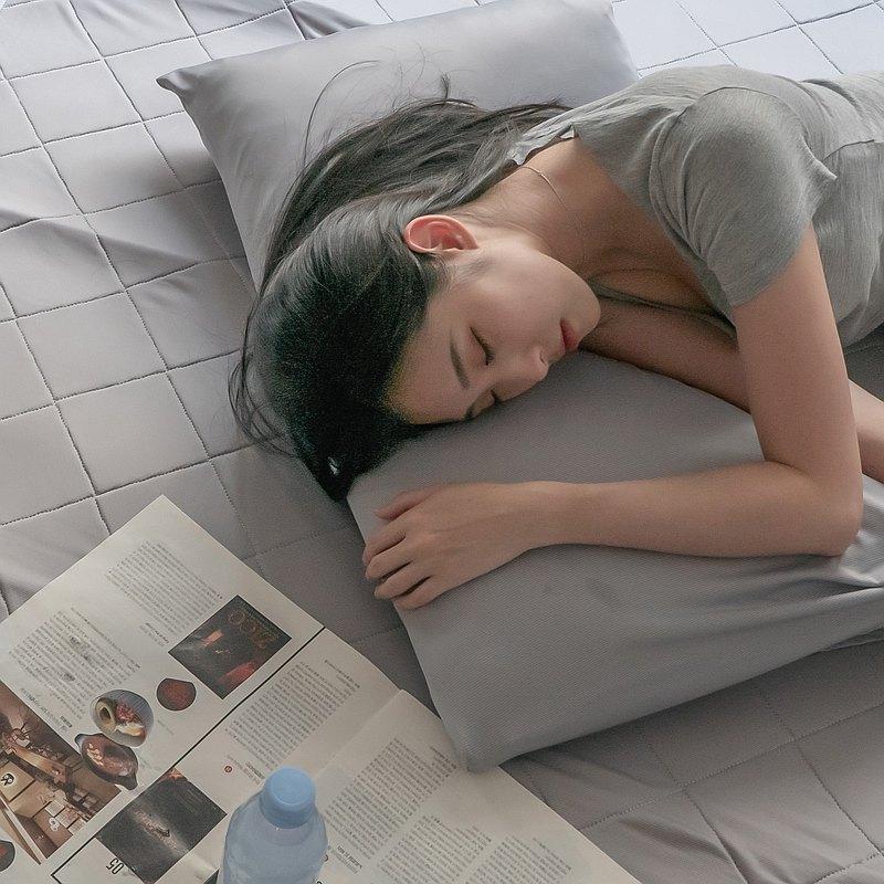Cool涼感枕套  Q-Max值達0.301 滑順細緻降溫有感 台灣製