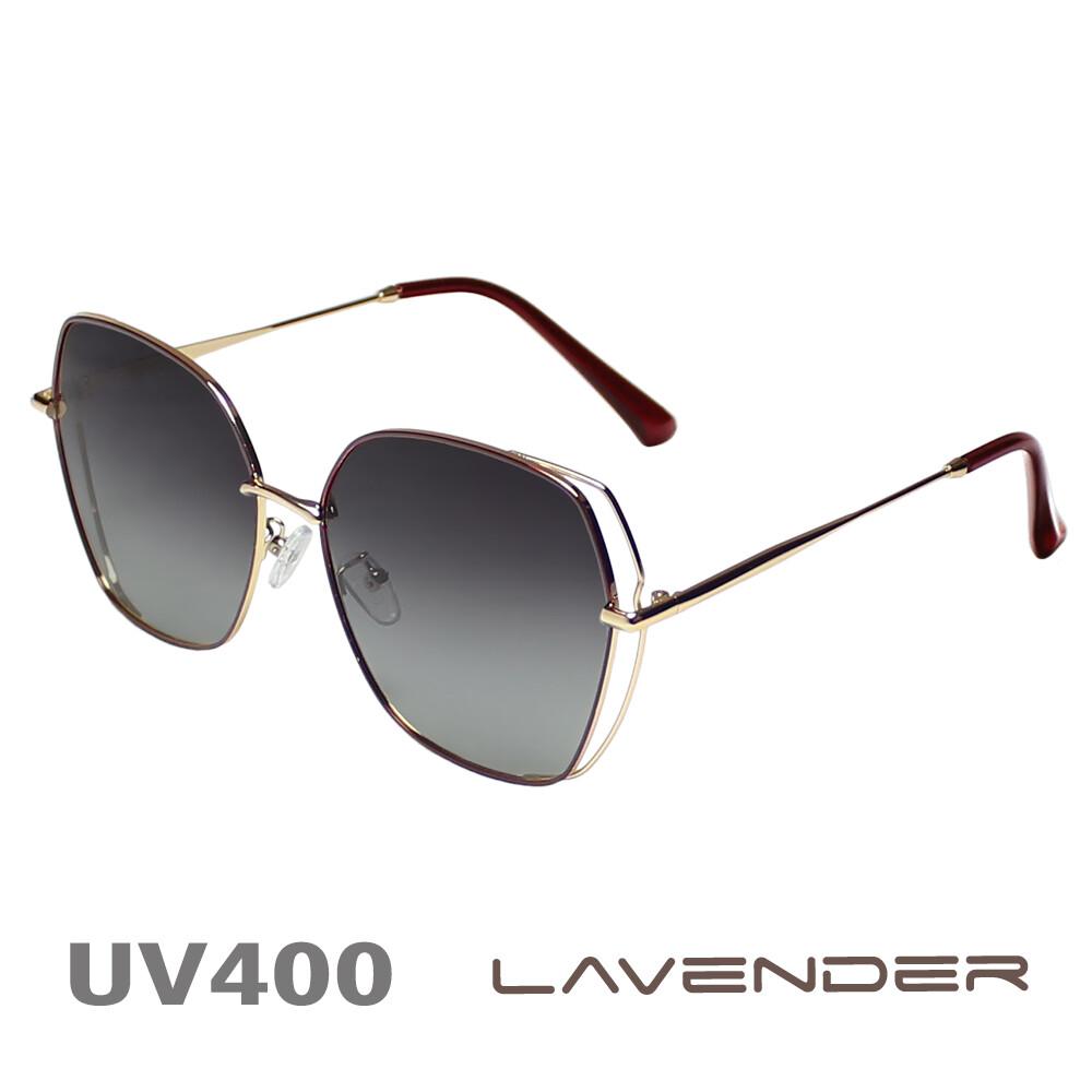 lavender 偏光太陽眼鏡 大框小臉款 耀眼紅 8062 c1