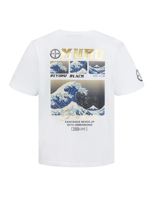 Ukiyo-E Collage Print T-shirt