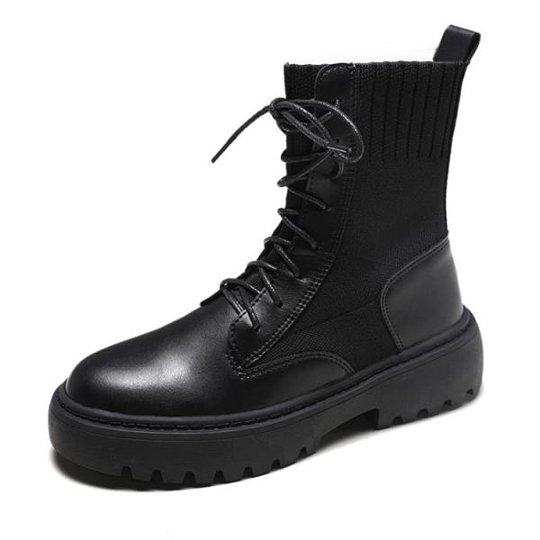 馬丁靴女英倫風新款