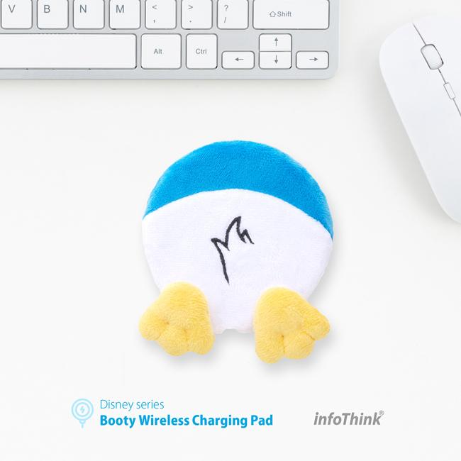 《迪士尼Disney》正版授權 唐老鴨電臀無線充電座 InfoThink 台灣製造 禮品