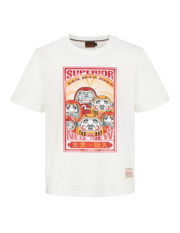 Three Wise Darumas Poster Print T-shirt