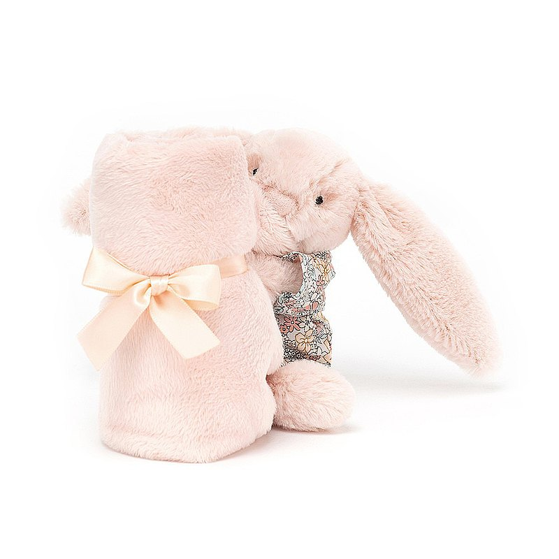 Jellycat Bedtime Blossom Blush Bunny 睡衣兔安撫巾
