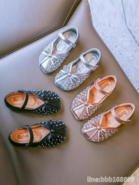 女童單鞋 新款軟底兒童單鞋公主小皮鞋春秋季寶寶小童女孩女童鞋子 城市科技