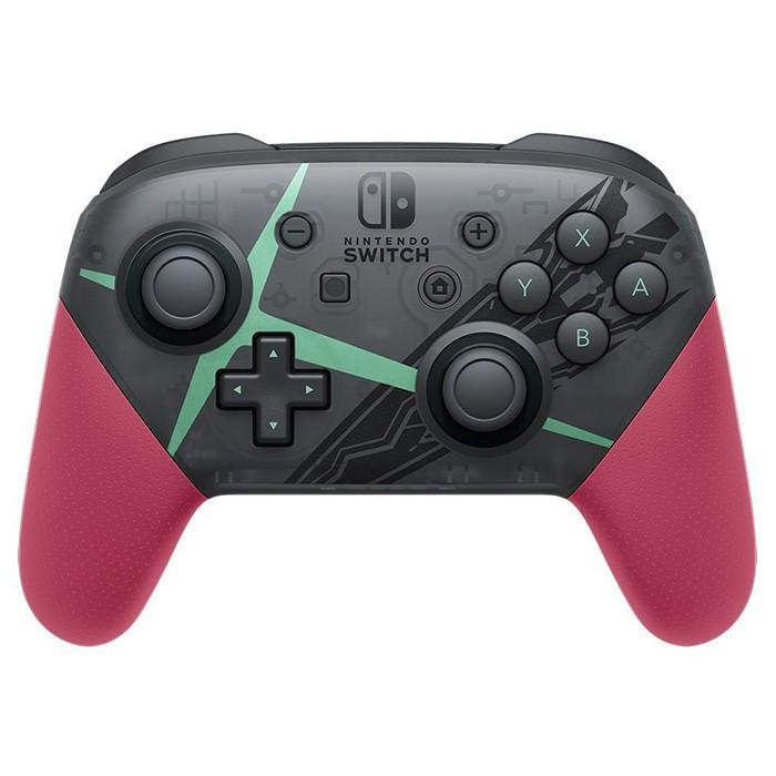任天堂 Switch Pro 控制器 異度神劍2 特別版