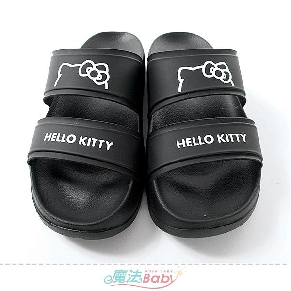 女鞋 Hello kitty正版時尚潮流涼拖鞋 魔法Baby