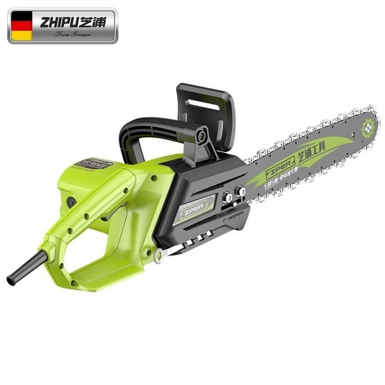 電鋸伐木鋸家用電鍊鋸多功能免加油鋸鍊條鋸大功率電動鋸