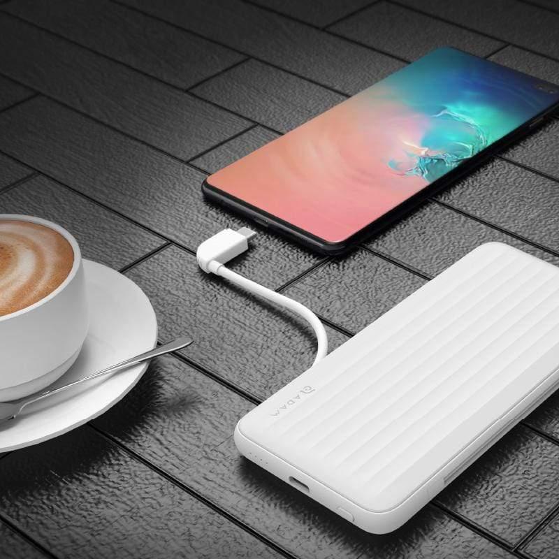 -MFI認證 雙向快充 10000mAh- GRAVITY X1 USB-C & Lightning PD 3.0 / QC 3.0 極速充電行動電源 白