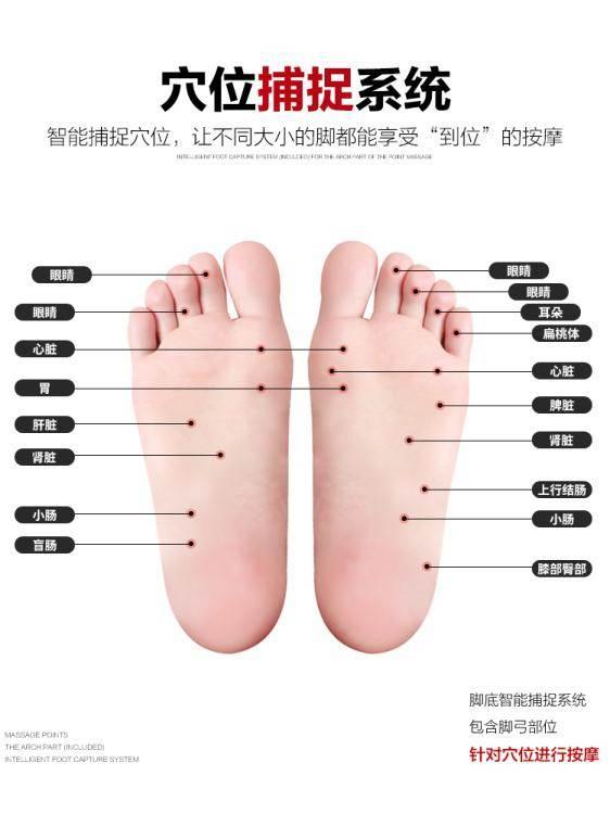 足療機 足療機腿部按摩器小腿腳部腳底足部穴位按腳神器家用足底按摩儀器