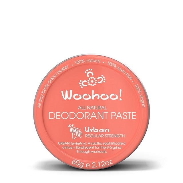澳洲Woohoo Body哇呼神奇體香膏--都會款(Urban)60g錫罐裝
