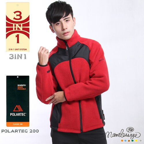 【NLG無名世代】男款POLARTEC刷毛外套 NLG52M305