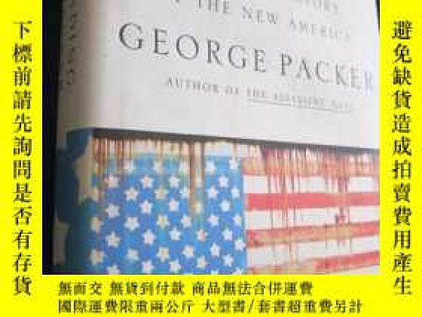 二手書博民逛書店The罕見Unwinding: An Inner History of the New America (硬精裝)