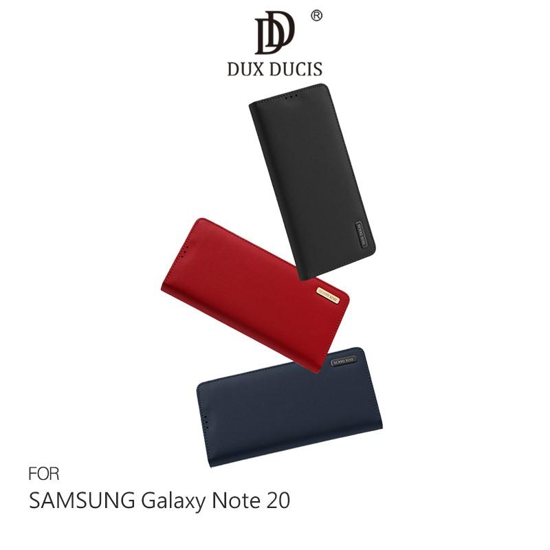 DUX DUCIS SAMSUNG Galaxy Note 20 WISH 真皮皮套