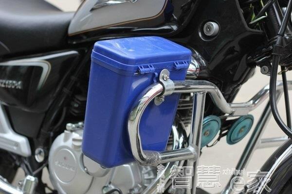 後背箱摩托車保險杠工具箱置儲物盒塑料水杯架可上鎖雜物桶尾箱大號 新年促銷