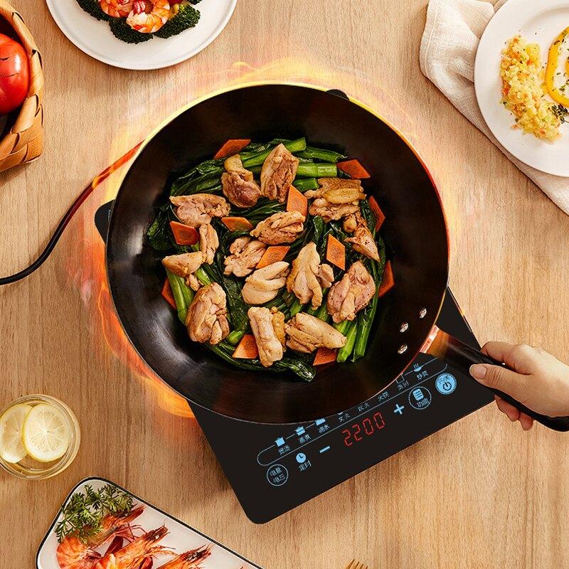 110V伏電磁爐 火鍋炒菜家用多功能 出口美國日本臺灣小家電廚房電器