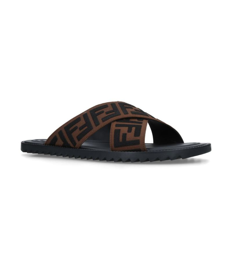 Fendi Logo Reloaded Slides