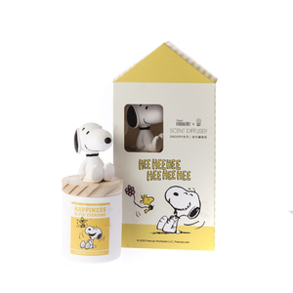 HOLA Snoopy系列室內擴香組-史努比