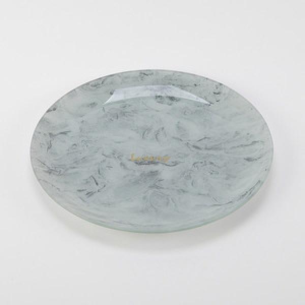 HOLA 厄圖爾石紋圓盤22.5cm