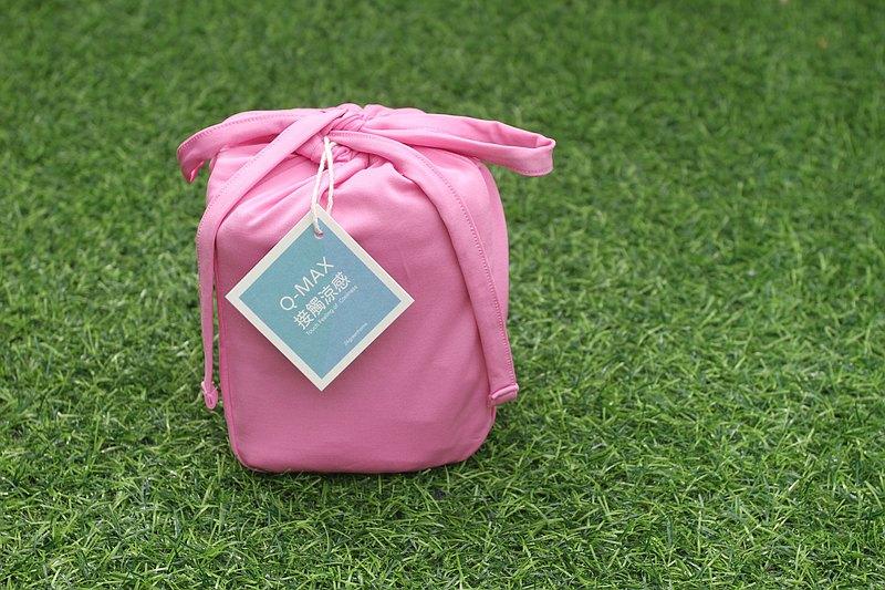 new馬卡龍雙功能涼感枕套-玫瑰粉