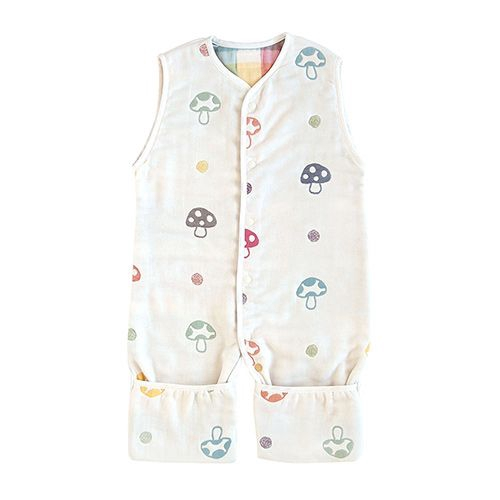 Hoppetta 蘑菇六層紗成長型睡褲 5465-PI-F【甜蜜家族】