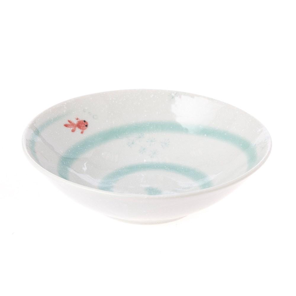 日本金魚湯碗16.5cm 綠
