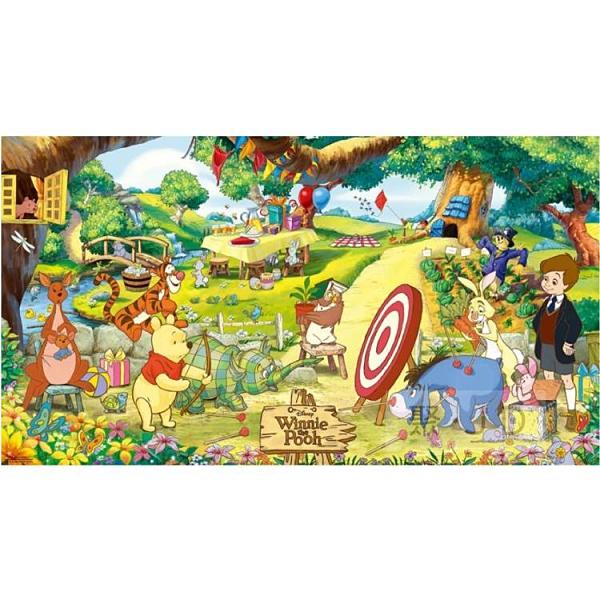 【台製拼圖】HPD02088-001 迪士尼 Disney-小熊維尼拼圖 (2088片) 盒裝拼圖