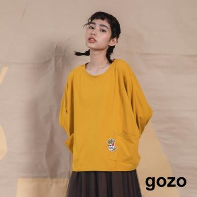 gozo-美國復古趣味香菸薯條上衣-(兩色)