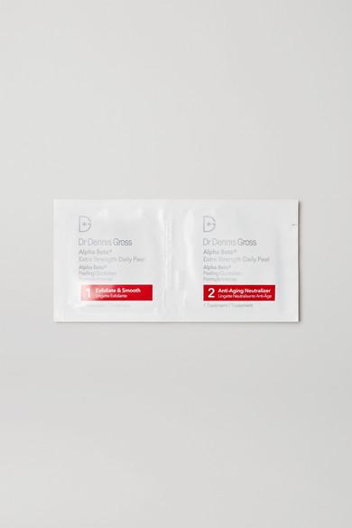 Dr. Dennis Gross Skincare - 羟基酸强效去角质日用棉片(30 日用量) - 无色 - one size